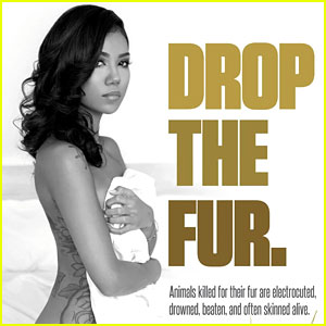 Jhene Aiko Bares All, Strips Down in Bed for Her PETA Ad