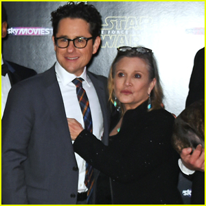 J.J. Abrams Remembers Carrie Fisher in Touching Handwritten Note