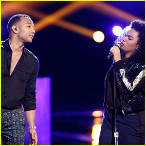 VIDEO: John Legend Performs with We McDonald on 'The Voice' Finale!