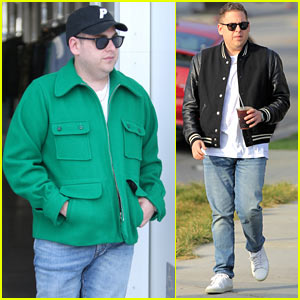Jonah Hill Celebrates His Golden Globes Nomination with a Shopping Trip
