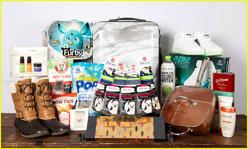 Win Just Jared's Holiday Gift Bag Filled with Must-Have Items!