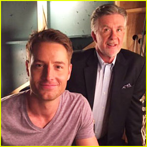 This Is Us' Justin Hartley Writes Message About Alan Thicke After Death
