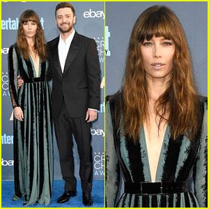 Justin Timberlake & Jessica Biel Are One Hot Couple at Critics' Choice Awards 2016!