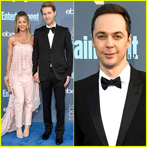 Kaley Cuoco & Boyfriend Karl Cook Are So Cute at Critics' Choice Awards 2016