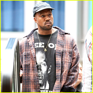 Kanye West Catches a Movie on Christmas Eve!