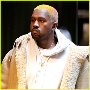 Kanye West Debuts New Multi-Colored Hair After Christmas