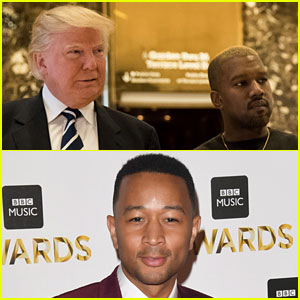 John Legend 'Disappointed' in Kanye West Over Donald Trump Meeting