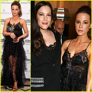 Kate Beckinsale Celebrates London Evening Standard Win with Pal Liv Tyler!