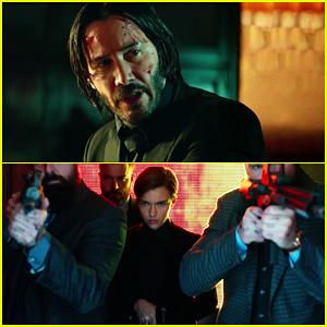 Video Keanu Reeves Ruby Roses John Wick Chapter 2 Gets