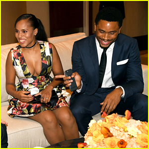 Kerry Washington & Husband Nnamdi Asomugha Make Rare Official Appearance After Welcoming Second Child!