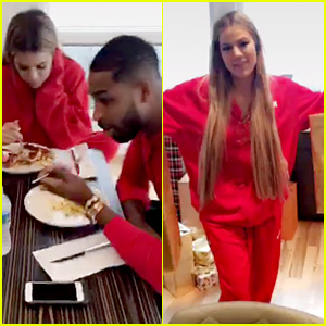 Khloe Kardashian Flies to Ohio to Spend Christmas with Boyfriend Tristan Thompson!