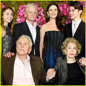 Kirk Douglas Celebrates 100th Birthday with His Famous Family!