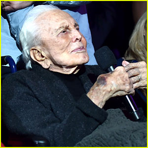 Kirk Douglas Turns 100 - See His Latest Photos Here!