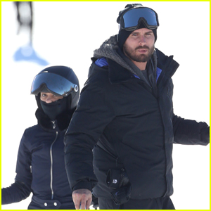 Kourtney Kardashian & Scott Disick Hit the Slopes in Aspen