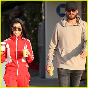 Kourtney Kardashian & Scott Disick Step Out Amid Relationship Rumors