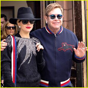 Lady Gaga & Elton John Are Spending Christmas Together in Aspen!