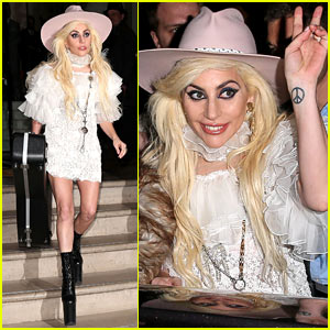 VIDEO: Lady Gaga Talks LGBTQ Rights at Surprise Concert on Roof of London Mall!
