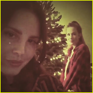 VIDEO: Lana Del Rey Covers 'Santa Baby' With Sister Chuck!