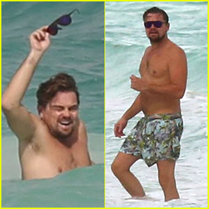 Leonardo DiCaprio Hits the Beach Shirtless in Cancun!