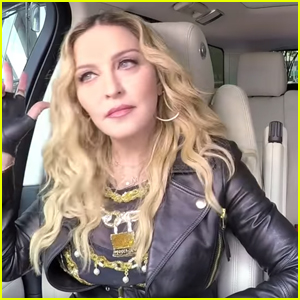 VIDEO: Madonna & James Corden Vogue In 'Carpool Karaoke' Preview