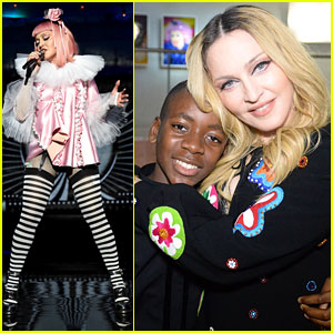 VIDEO Madonna Covers Britney Spearsu0027 u0027Toxicu0027 at Raising Malawi Fundraiser  sc 1 st  Just Jared & VIDEO: Madonna Covers Britney Spearsu0027 u0027Toxicu0027 at Raising Malawi ...