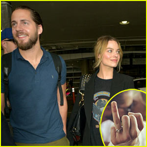 Margot Robbie Seemingly Confirms She Married Tom Ackerley - Check Out Her Ring!