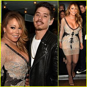 Mariah Carey Brings Dancer Bryan Tanaka to 'Mariah's World' Premiere!