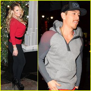 Mariah Carey Brings Rumored Boyfriend Bryan Tanaka to Turn on Lights at Empire State Building
