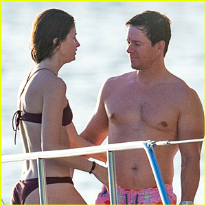 Mark Wahlberg Enjoys Fun in the Sun with Wife Rhea Durham