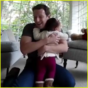 Mark Zuckerberg Shows Daughter Max's First Steps in Facebook 360 Video!