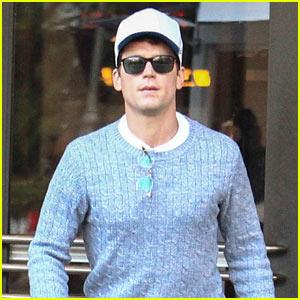 Matt Bomer Enjoys an Afternoon Shopping in LA