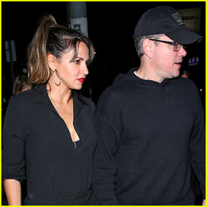 Matt Damon & Wife Luciana Hold Hands During Date Night in WeHo