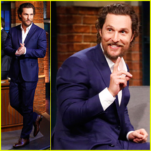 VIDEO: Matthew McConaughey Reveals That He Faked An Australian Accent for a Year!