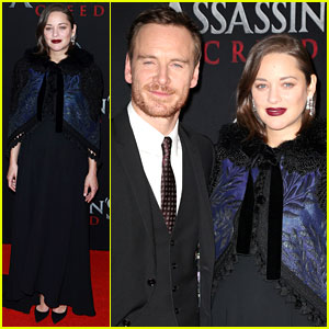 Michael Fassbender & Marion Cotillard Premiere 'Assassin's Creed' in New York!