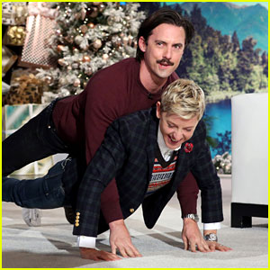 VIDEO: Milo Ventimiglia & Ellen DeGeneres Recreate 'This Is Us' Push Up Scene
