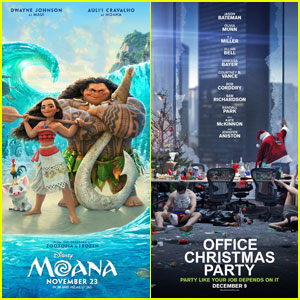'Moana' Beats 'Office Christmas Party' at Weekend Box Office