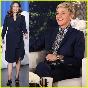 VIDEO: Ellen DeGeneres Predicts Gender of Natalie Portman's Baby