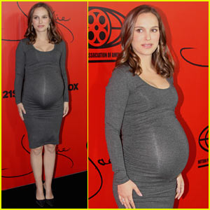 Natalie Portman Shows Off Major Baby Bump at 'Jackie' Premiere in DC!