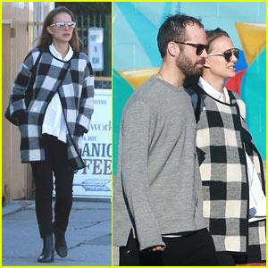 Natalie Portman Grabs Lunch with Husband Benjamin Millepied