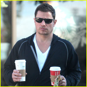 Nick Lachey Grabs Coffee After Welcoming Baby Phoenix