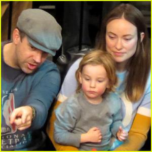 Olivia Wilde & Jason Sudeikis Enjoy Family Time with Son Otis!