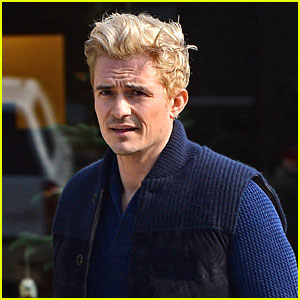 Orlando Bloom Gets Another Touch Up on His Blond Hair!