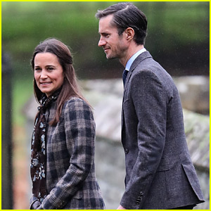 Pippa Middleton & Fiance James Matthews Celebrate Christmas with the Royal Family!