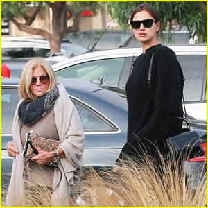 Pregnant Irina Shayk & Bradley Cooper's Mom Gloria Go Food Shopping Together!
