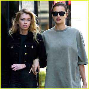 Pregnant Irina Shayk Goes Shopping with Pal Stella Maxwell!