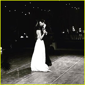 'Pretty Little Liars' Stars Share Pics From Troian Bellisario's Wedding!