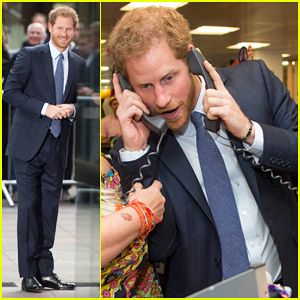 Prince Harry Returns To London For ICAP Charity Day After Visiting Girlfriend Meghan Markle In Canada!