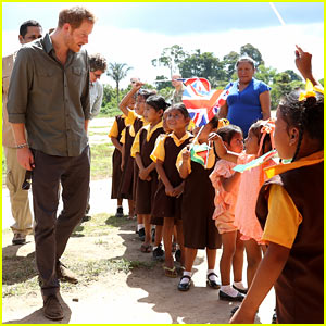 Prince Harry Visits Guyana During Final Days of Caribbean Tour