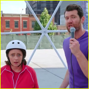 VIDEO: Rachel Dratch 'Escapes Margot Robbie's Moment' on 'Billy On The Street'