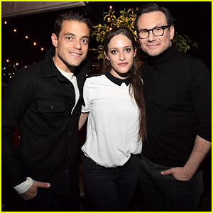 Rami Malek & Christian Slater Are Very Proud Of 'Mr. Robot' Success!